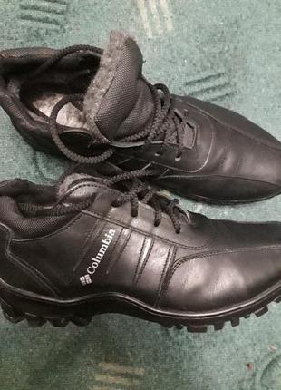 Зимние туфли ботинки