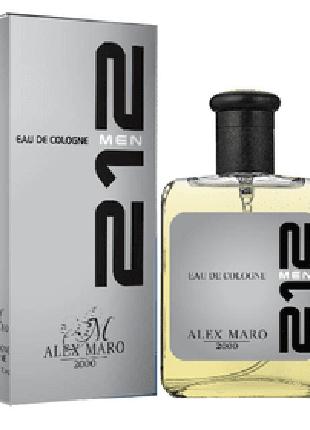 Туалетная мужская вода Alex Maro *212*