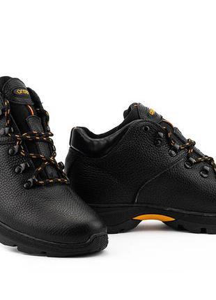 Натуральная кожа! зимние мужские ботинки