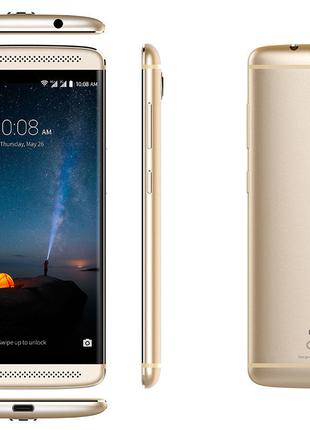 "Смартфон ZTE Axon 7 mini Gold 5.2"" Amoled 1920x1080 3\32Gb 16Mp"