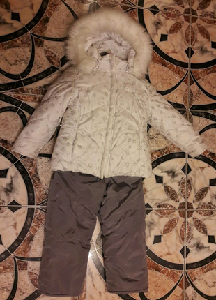 Зимнии комбинезон