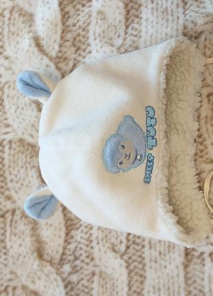 Зимняя шапка tutu 44-46