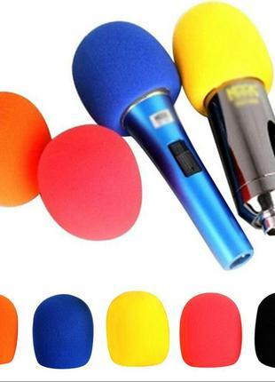 Распродажа! Ветрозащита для микрофонов 5шт в комплекте, паралонки