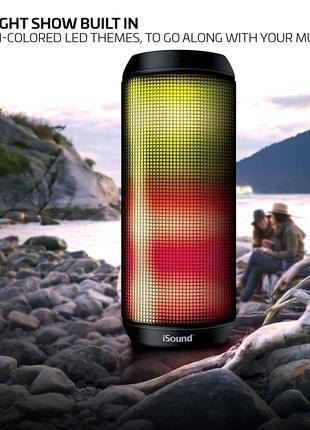Bluetooth-колонка iSound - iGlowSound Tower из США.Водонепроницае