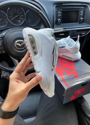 Nike air max 2090 white, женские кроссовки найк белые, найк эи...