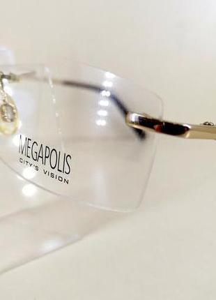 Оправа Megapolis 50 Gold