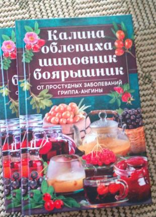 """Книга """"Калина, облепиха, шиповник, боярышник от заболеваний"""""""