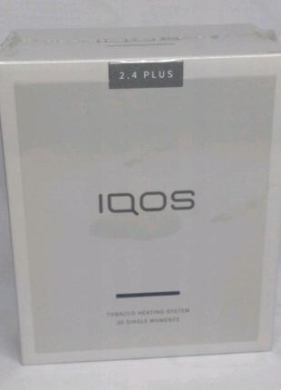 Комплект IQOS. Гарантия. 2.4+ Blue Navy + ПО Для Чистки и Вибро!