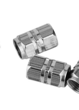 Комплект алюминиевых колпачков для ниппеля, золотника