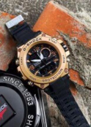 Часы Casio G-Shock GLG-1000 Black-Cuprum наручные мужские