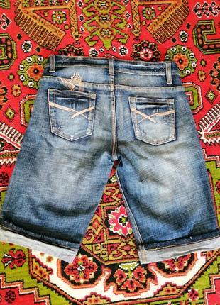 Бриджи джинсовые женские, шорты