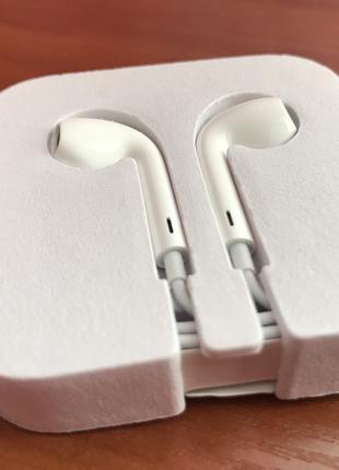 Наушники с комплекта Apple Ipod Earpods 3.5mmJack 100% оригинал