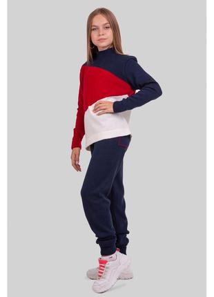 Теплый яркий спортивный костюм для девочки 128-152 р
