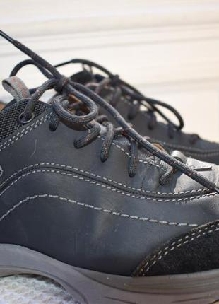 Кожаные туфли мокасины полуботинки кларкс clarks air vent р.42...