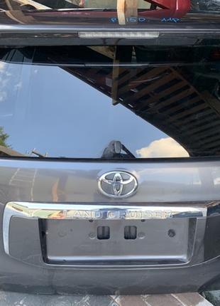 Крышка кришка ляда багажника задняя Toyota Prado Тойота Прадо 150