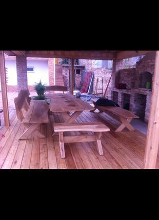 Изготовление садовой мебели любых размеров