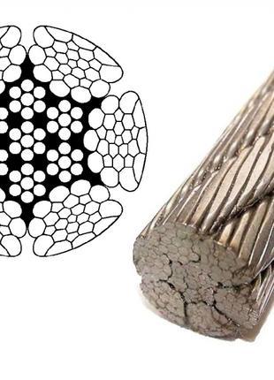 Вальцьовані (холодно тягнуті) стальні троси