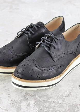туфли-лоферы черные 37,38