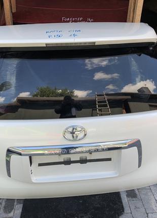 Крышка багажника дверь задняя Toyota Prado Тойота Прадо 150 2011