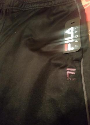 Классные спортивные штаны Fila