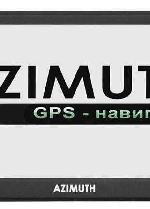 GPS навигатор Azimuth S74 Android с ярким дисплеем