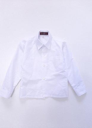 Рубашка белая для мальчика р.25, 26 на 2-3 года