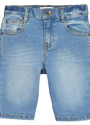 Шорты джинсовые h&m для мальчика р. 104 на 3-4 года