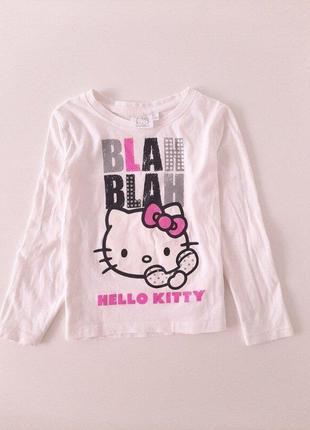 Реглан hello kitty  р.116 на 5-6 лет для девочки