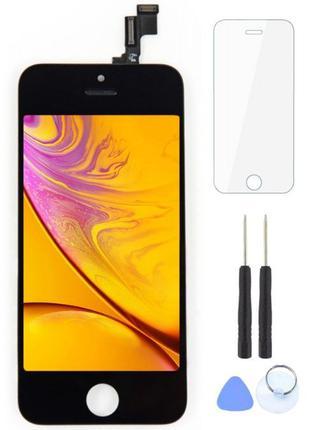 Дисплей IPhone 5 S экран 6 тач 7 стекло 8 ремонт X замена айфо...