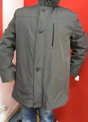 Мужская куртка пальто серого цвета jupiter германия р-62
