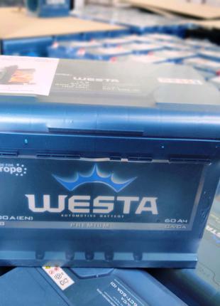 Автомобильный аккумулятор WESTA