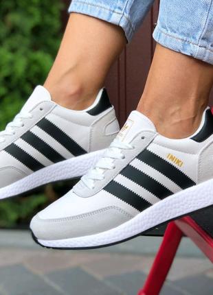 Кроссовки Adidas Iniki білi