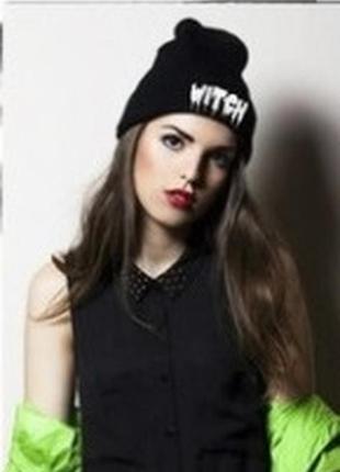 13-266 стильна модна шапка witch