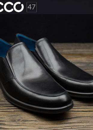 Мужские туфли слипоны ecco jared 602014 оригинал р-44