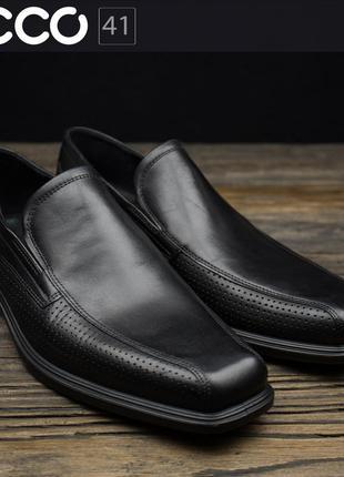Мужские туфли слипоны ecco johannesburg 623584 оригинал р-41
