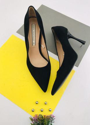 Женские туфли лодочки zara