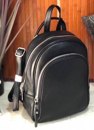 Женский кожаный рюкзак в расцветках, рюкзак из натуральной кожи