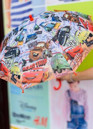 """Зонт """"тачки"""" для мальчика"""