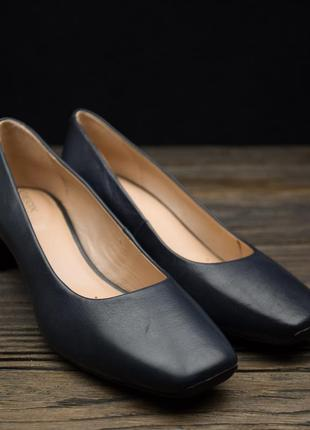 Женские дышащие синие туфли-лодочки geox vivyanne оригинал