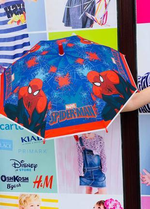 """Зонт """"человек паук"""" для мальчика"""