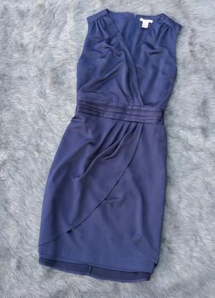 Платье с имитацией запаха h&m