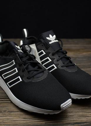 Мужские черные кроссовки adidas originals zx flux adv s79005 о...