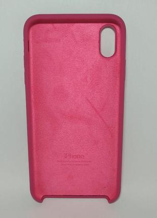 Задня накладка iPhone XS MAX Original Soft Touch Dragon Fruit