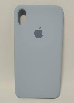 Задня накладка iPhone XS MAX Original Soft Touch Lilac cream