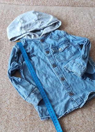 Фирменная рубашка(2-3года)