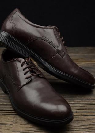 Мужские кожаные туфли rockport a12164 оригинал р-46