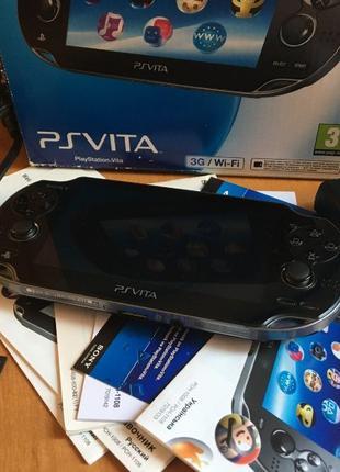 PlayStation Vita (PS Vita 3G+Wi-Fi PCH-1108) + 16GB карта Sony
