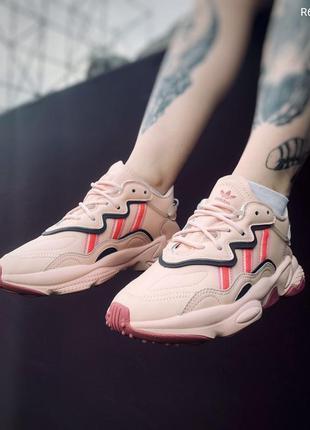 Adidas pink, жіночі кросівки адідас