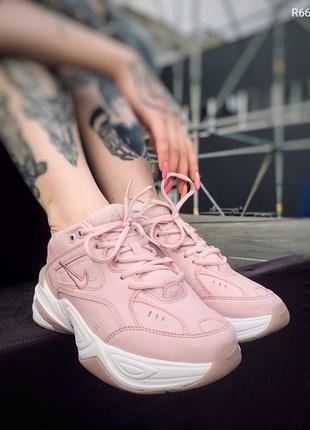 Женские розовые кроссовки найк