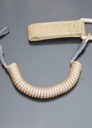Страховочный шнур комбинированный с D-кольцом